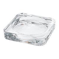 ГЛАСИГ Тарелка для свечи, прозрачное стекло 59.– Артикульный номер: 602.591.43 Подробнее Размер 10x10 см
