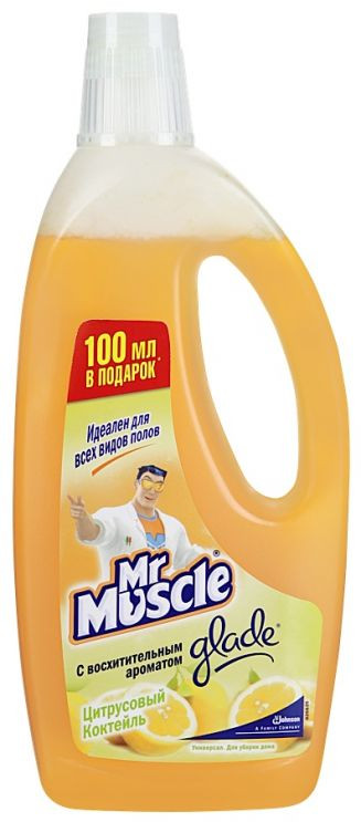 МОЮЩЕЕ СРЕДСТВО для полов Mr Muscle 750мл.