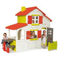 Детский игровой домик двух этажный Smoby, фото 1