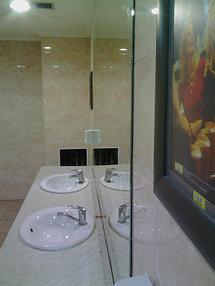 Установка зеркала в торговый центр, 20 апреля 2016 6