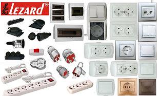 Электроустановочные изделия Lezard