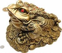 Трехпалая жаба символ удержания богатства
