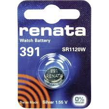 Батарейка Renata 391 SR1120