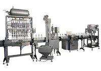 Автоматический розлив в ПЭТ, линейного типа, 3000 бутылок в час, с дозатором сиропа., фото 1