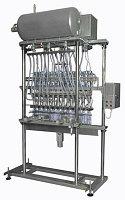Автоматический розлив газированной воды в ПЭТ тару до 2000 бут/час, линейного типа, АРЛ8-8.