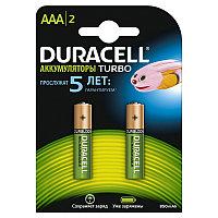 Аккумуляторы Duracell Turbo ААА 850mAh