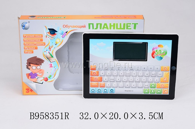 """Развивающая игрушка """"Планшет"""" B958351R Торговая марка: TONGDE."""