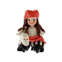 Статуэтка Пиратка. Керамика, Италия, ручная работа