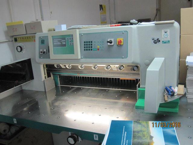 Perfecta 92 TV б/у 2004г - бумагорезальная машина
