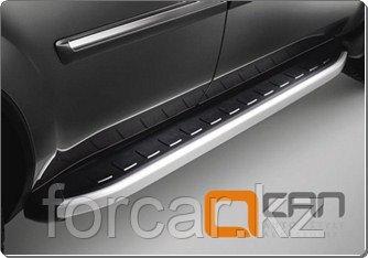 Пороги алюминиевые (Alyans) Mercedes ML W166 (2011-), фото 2