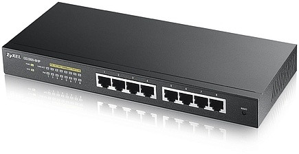 Zyxel GS1900-8HP Интеллектуальный High Power PoE-коммутатор Gigabit Ethernet с 8 разъемами RJ-45