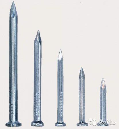 Гвозди строительные строительные 100 мм