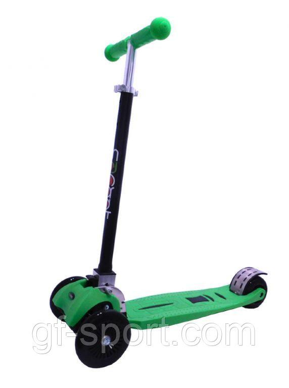 Самокат Scooter усиленный,складной руль