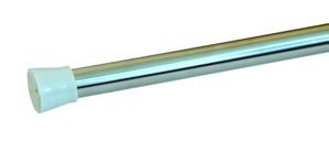 Карниз для штор в ванную комнату  Aquaлиния  хром 1,2-2,3