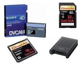 Карты памяти, карт-ридеры, кассеты