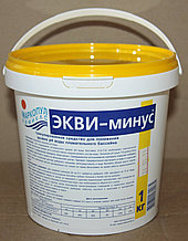 Экви-минус 1кг ведро, порошок для уменьшения уровня рН воды