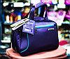 """Женская сумка-саквояж """"POLO KING"""", 40х18х30см (синяя)"""