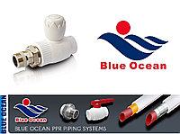 Прямой шаровый радиаторный кран 20х3/4 Blue Ocean