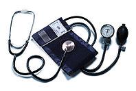 Прибор для измерения артериального давления с мед. стетоскопом