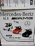 Толокар машинка Mercedes-Benz SLS AMG (аналог), фото 9