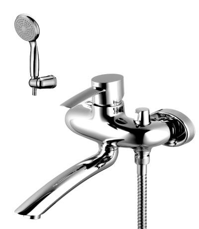 Смеситель для ванны с поворотным изливом LeMark Серия ATLANTISS LM3214C