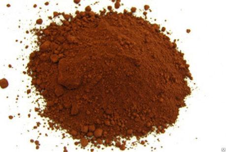 Железоокисный пигмент 686 коричневого цвета, фото 2