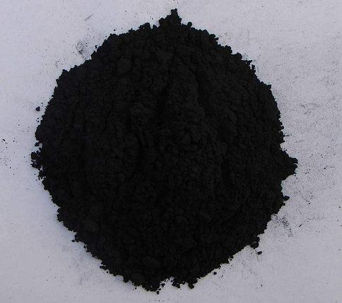 Железоокисный пигмент черный графитовый, фото 2