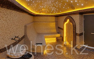 Оптоволоконное и светодиодное освещение в турецких хамамах.