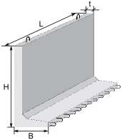 Г-образные конструкции для водохозяйственного строительства
