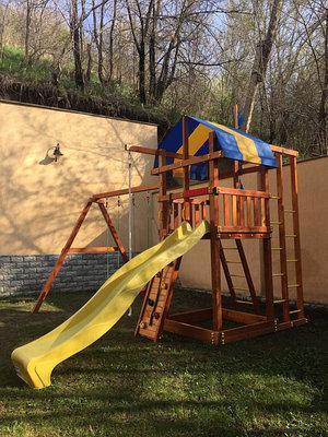 Самсон. Детские деревянные игровые площадки для дач и частных домов