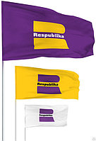 Изготовление флагов с логотипом