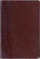 Ежедневник ANDRE в клетку с тканевым корешком 11*16,5 см коричневый куагуле