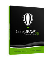 CorelDRAW Graphics Suite X8 Single User Box