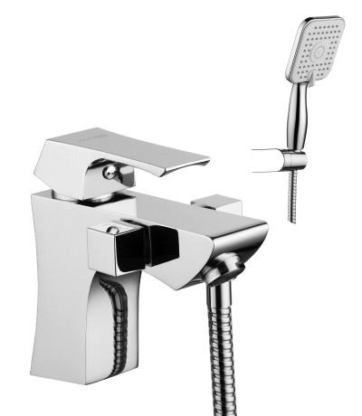 Смеситель на борт ванны с монолитным изливом LeMark Серия  UNIT LM4515C