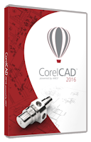 CorelCAD 2016 License PCM ML Single User