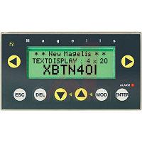Компактная панель с сенсорным экраном и клавиатурой XBTN401