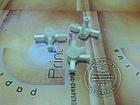 Кран подключения промывки три направления оригинал, фото 4