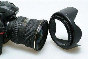 Бленда для объектива Camera Lens Hood 72мм, фото 2