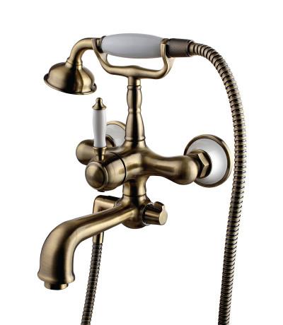 Смеситель для ванны с фиксированным изливом LeMark Серия VILLA LM4812B бронза