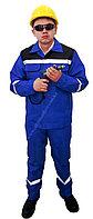 Спецодежда Костюм «Рабочий» темно-синий с синим