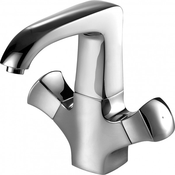 Смеситель для умывальника Bravat Whirlpool F178112C