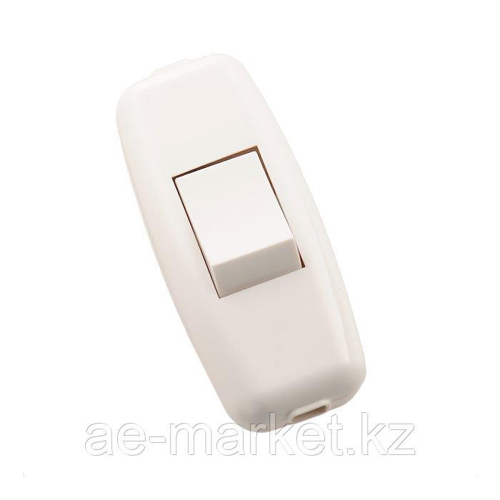 Выключатель навесной белый/белый