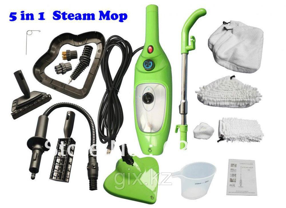 Швабра 5 в 1 H2O Mop X5 (паровая швабра)