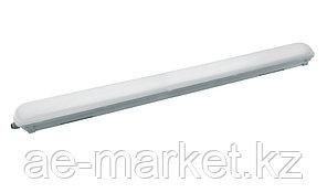 Светодиодный пылевлагозащищенный светильник  IP 65 36W 6500K 2800L PC (поликарбонат) 1200x76x6