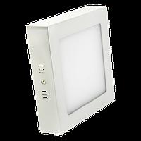 Светодиодная панель квадратная накладная 225x225 18W/ 1440 Lm 6400 К