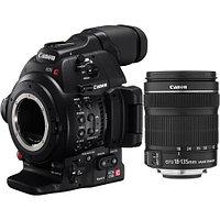 Canon EOS C100 MARK II + 18-135 STM Cinema камера EOS типа, версия MARK II с объективом