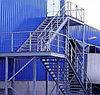 Лестницы, заборы, навесы, сложные металлоконструкции, перила из чёрного металла