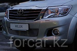 Решётка премиум класса на Toyota Hilux