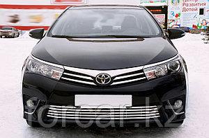 Решётка премиум класса на Toyota Corolla 2014