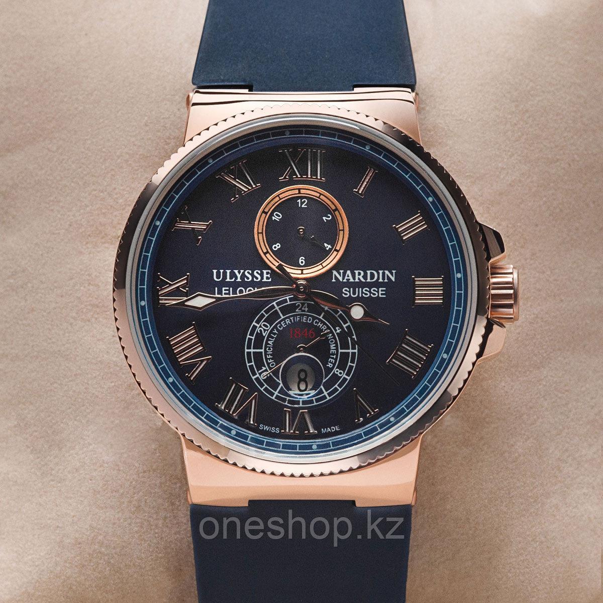 Мужские Наручные Часы Ulysse Nardin Marine(Механика)